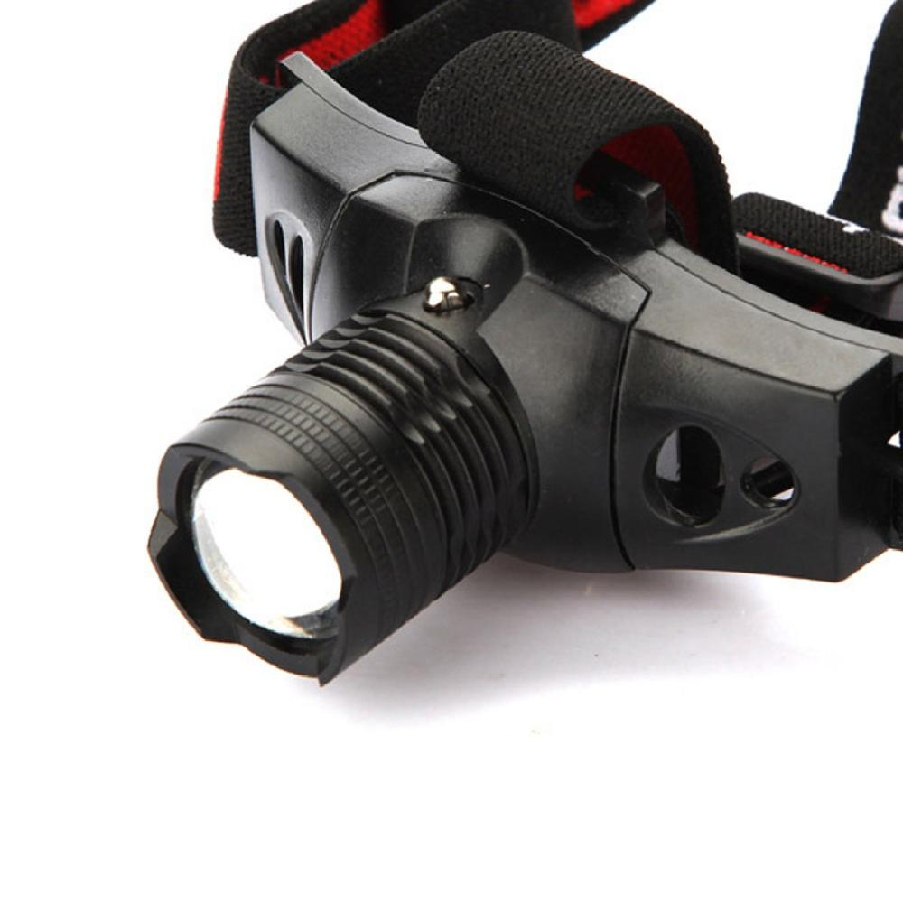 Гаджет  Free Shipping CREE Q5 LED 5W Zoomable Rechargeable Headlamp Headlight Torch Flashlight None Свет и освещение
