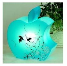 Hot sell Bitten Apple Shape Desk Table Lamp Light Lovely Cosy Romantic Creative night light Gift for Child, lover Free Shipping(China (Mainland))