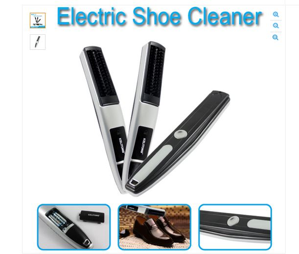 Electric Golf Club Cleaner and shoe polisher(2 in 1 cleaner)(China (Mainland))