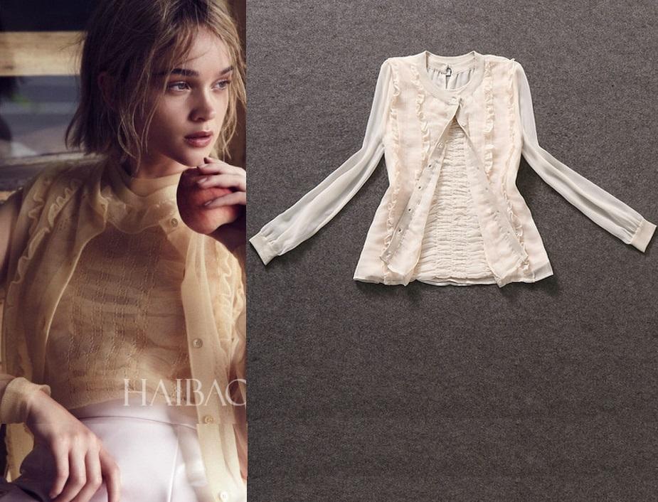 Мода Осень 2014 Блузки В Спб