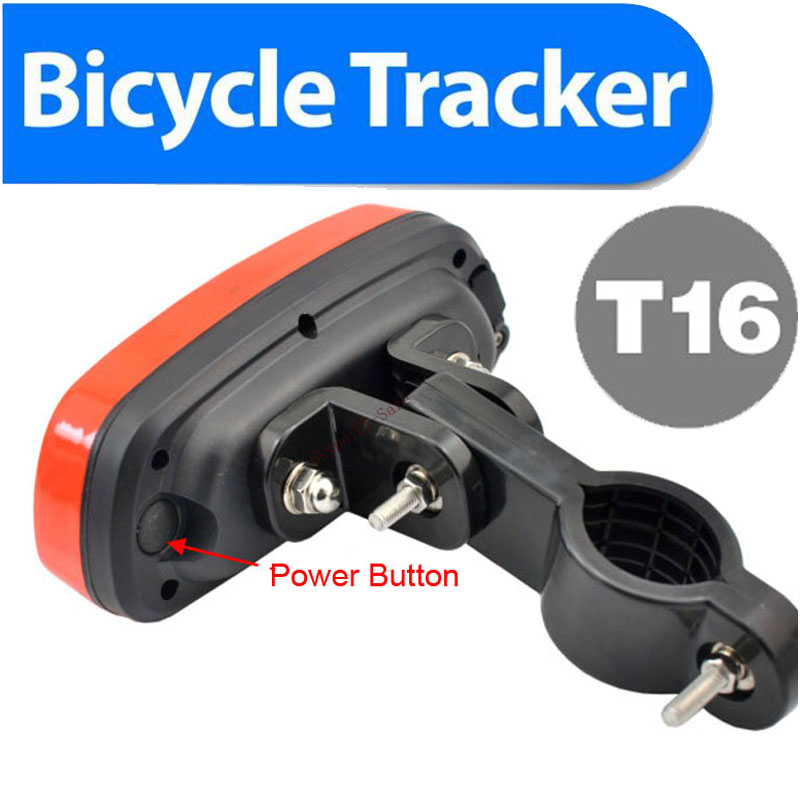 2016 best bike gps tracking device,gsm sms alarm system,portable positioning system,free shipping 4400mAh battery(China (Mainland))