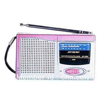 2014 Mini Portable AM FM Pocket Radio 2 Bands Receiver DC 3V