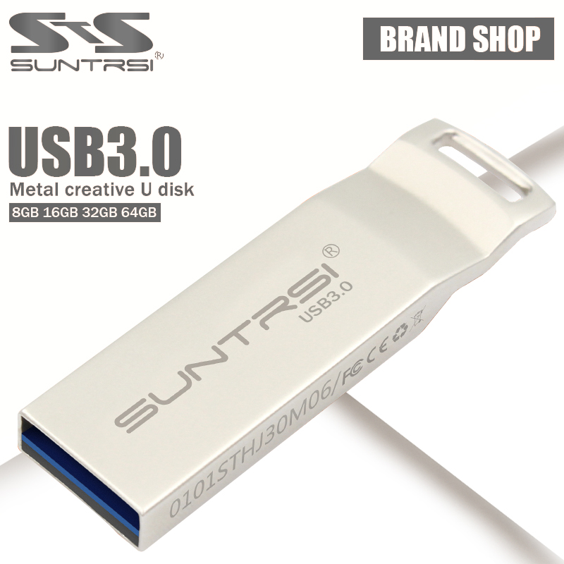 Suntrsi usb 3.0 Pen drive USB Flash Drive 64GB Thumb Pen Drive 32GB 8GB 16GB USB Stick Memory Stick flash drive flash card(China (Mainland))