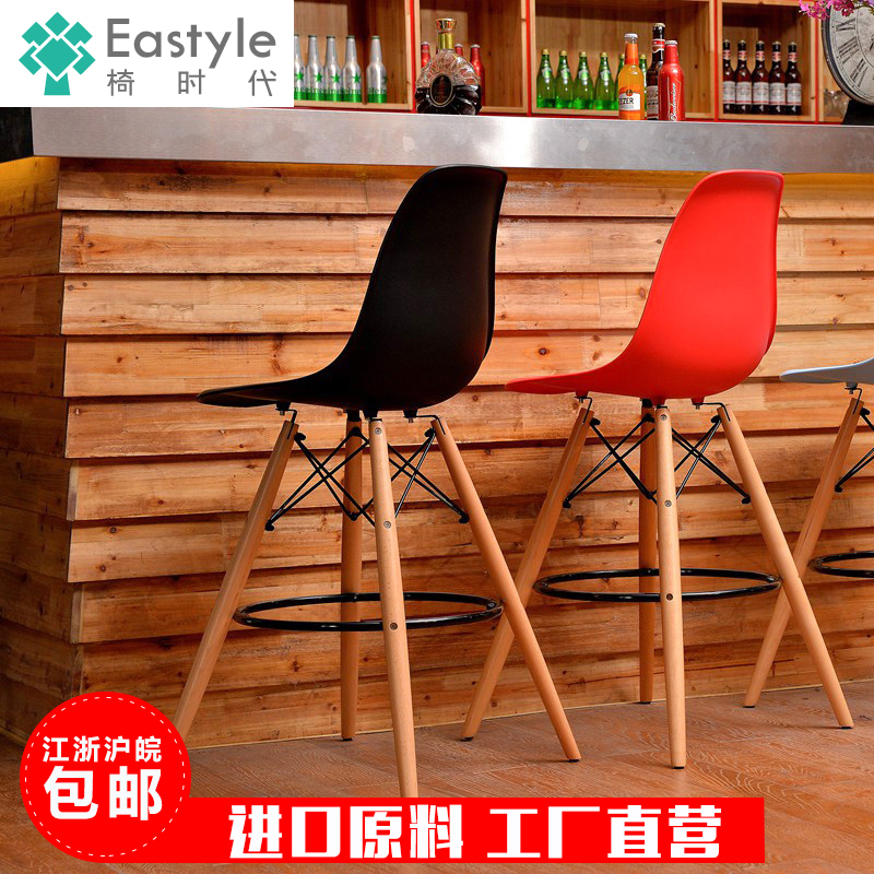 Ikea Exported To Europe And High End Home Eames Eames Chairs Plastic Chairs Casual Coffee Bar