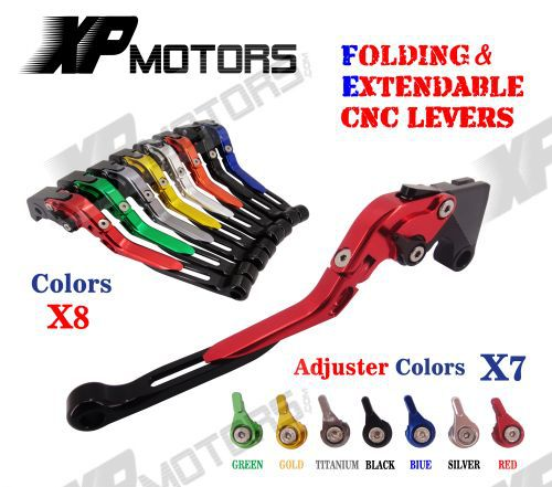 CNC Folding & Extending Brake Clutch Lever Honda VF750S Saber VFR800 VFR800F VTR1000F Firestorm CBF1000 CB1300 SB/ST/SF NEW