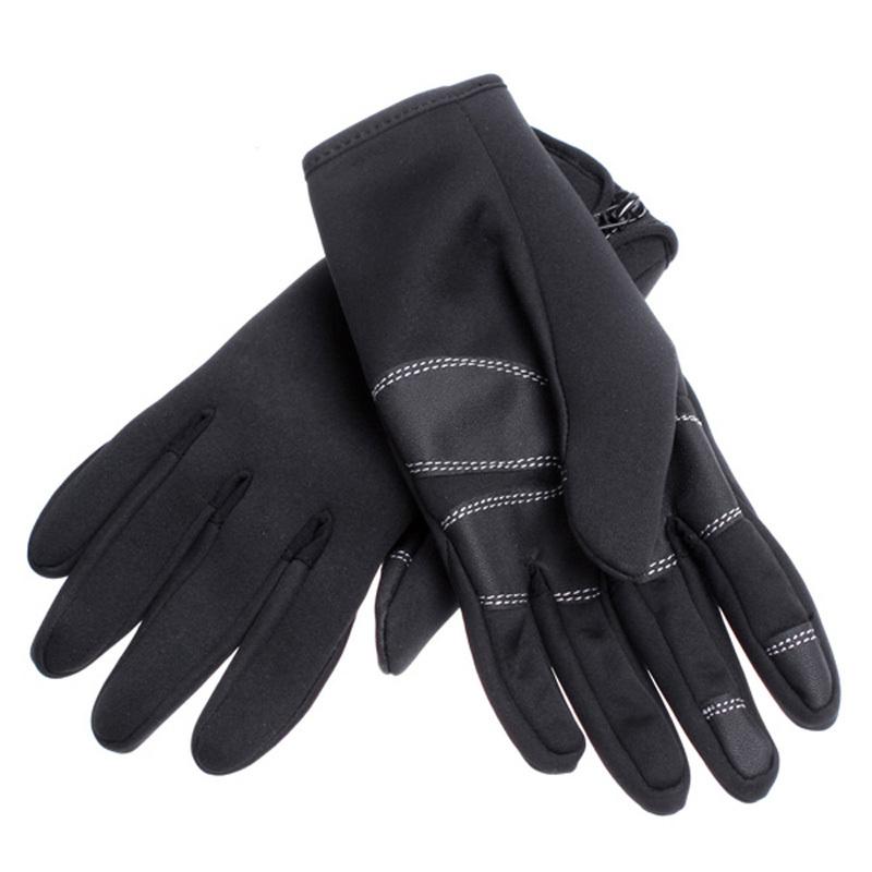 Long Leather Gloves For Men Warm Leather Gloves Men