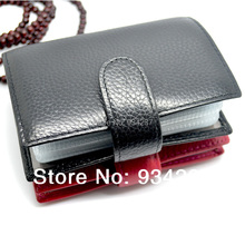 2014 Fashion Cowhide Genuine Leather Card Bag Men Women's Wallet Card Holder Place Antimagnetic Credit Card Holder 20 Screens