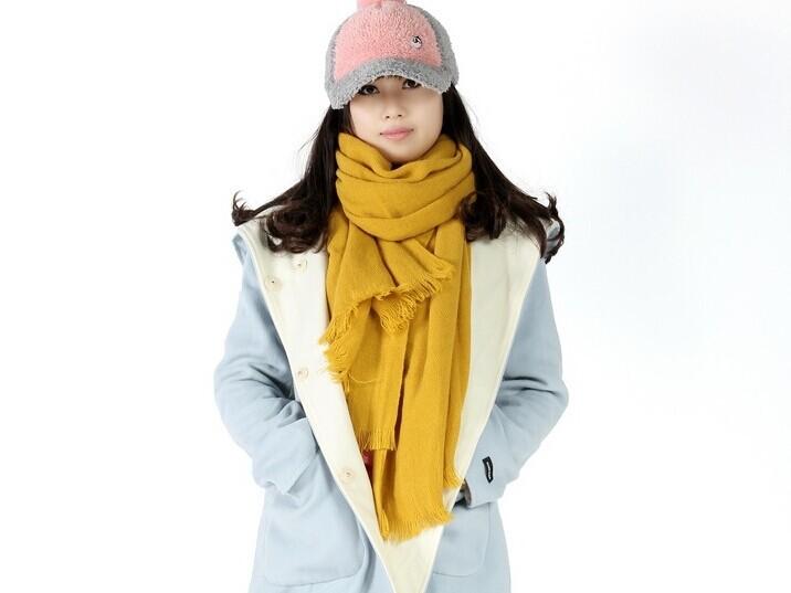 200*60cm Unisex Winter Warm Scarf Blanket Scarf Hot Sale Wool+Cashmere Scarf Long Shawl High Quality Pashmina Free Shipping(China (Mainland))