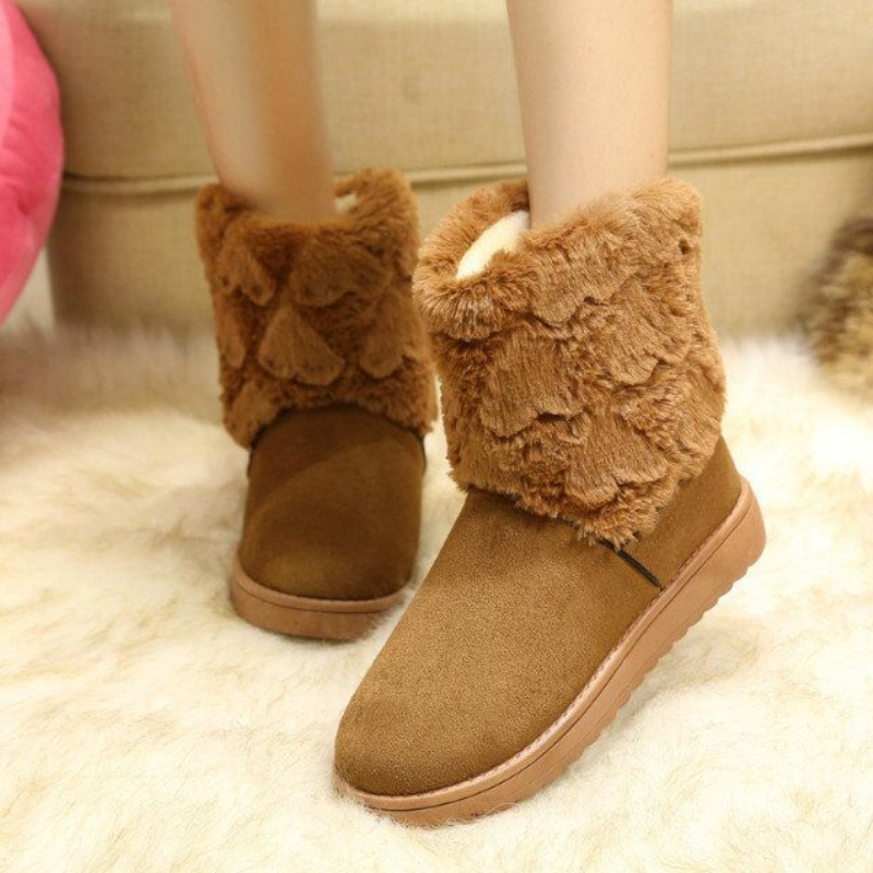Love the new autumn and winter snow boots warm waterproof coat cotton shoes boots boots women boots(China (Mainland))