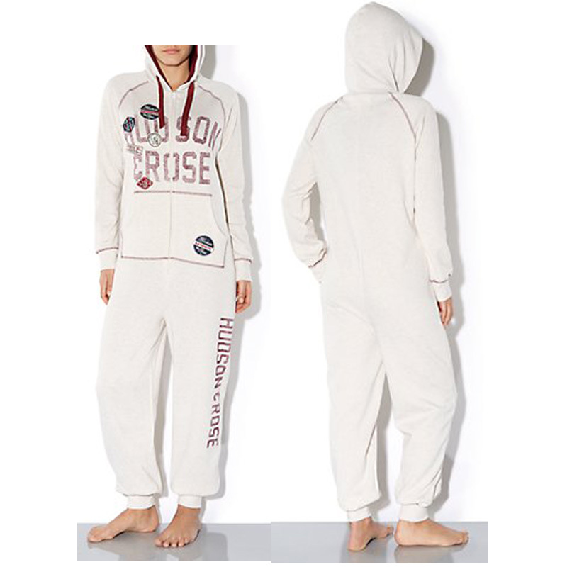 Women's Jumpsuit Hooded Fashion 2015 Euro Size Heavyweight  Onesies Pajamas Pijamas Pyjama Teenager Girl's Clothing Set(China (Mainland))