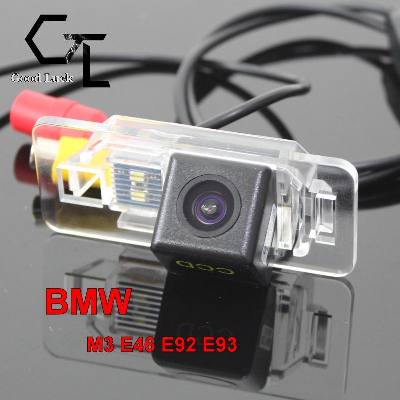For BMW M3 E46 E92 E93 wireless Car Auto Reverse Backup CCD HD Night Vision Rear View Camera(China (Mainland))