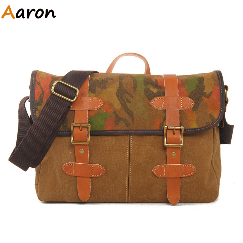 Aaron - Retro European Style Designer Personality Males Messenger Bag,Casual Outdoors Tactical Shoulder Bags With Durable Strap<br><br>Aliexpress