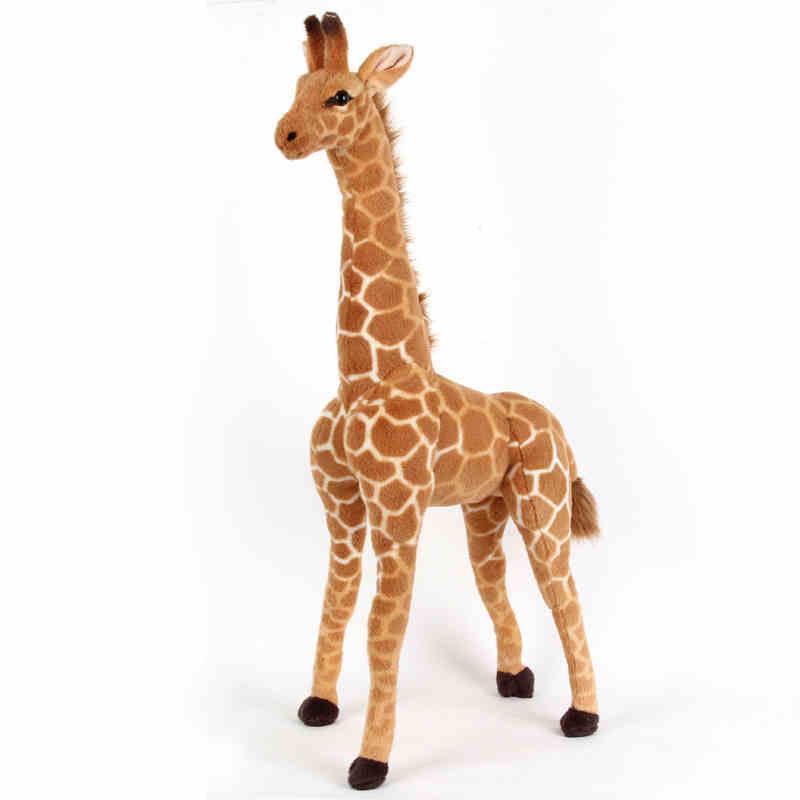 stuffed animal lovely giraffe plush toy about 95cm simulation giraffe doll birthday gift t9684(China (Mainland))