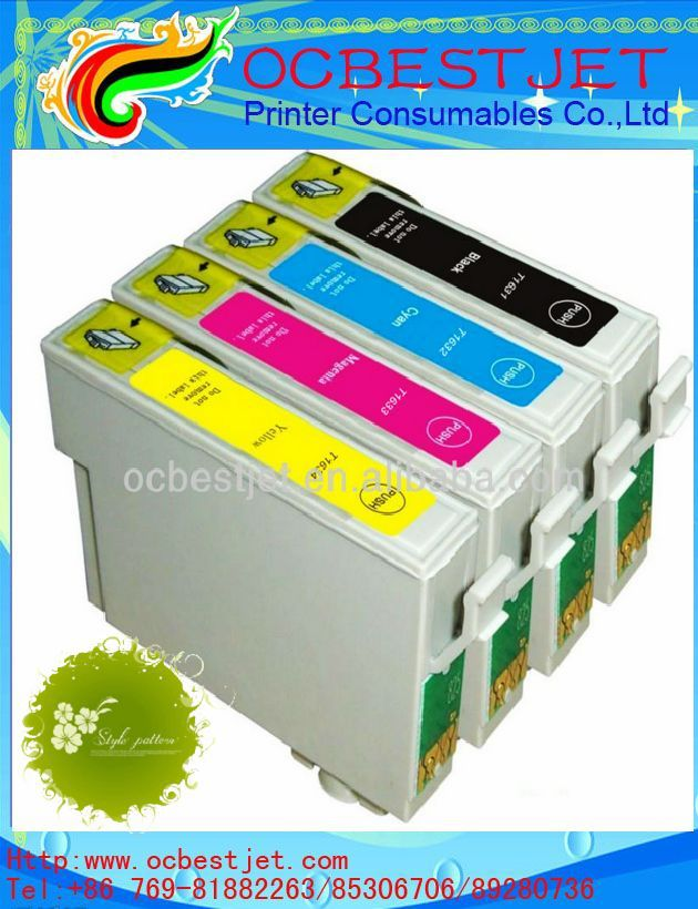 New refill ink cartridge with auto reset chip for Epson xp-600 printer<br><br>Aliexpress