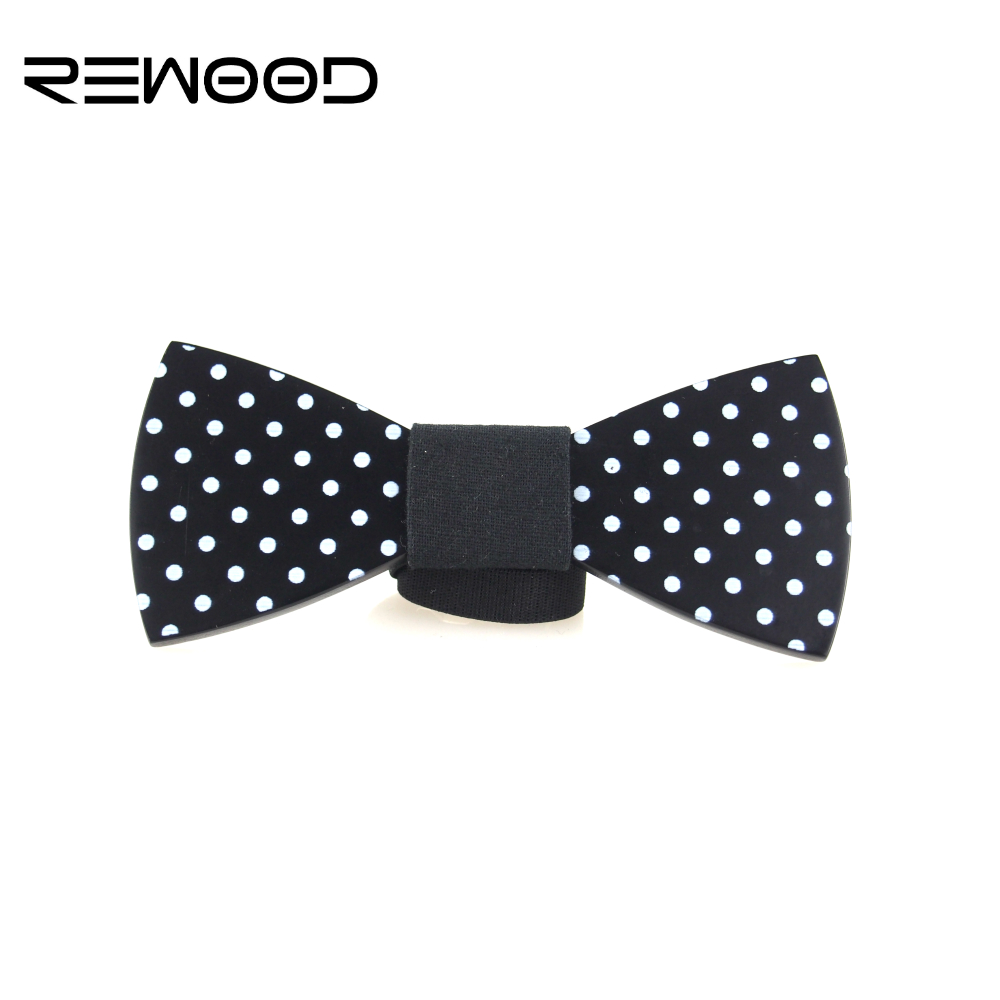 2016 Rewood Hot Selling Fashion Men Wooden Bow Tie Mens font b Accessories b font White