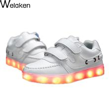 New Arrivals 2016 Baby Shoes Autumn Fashion Lighted Shoes Kids Shoes Brand Children Boys Girls Shoes