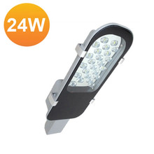 High Power High Quality 24W LED Street Light AC85-265V Outdoor Lighting Garden Lamp Warm White/White IP65 Outdoor Park Road Lamp(China (Mainland))