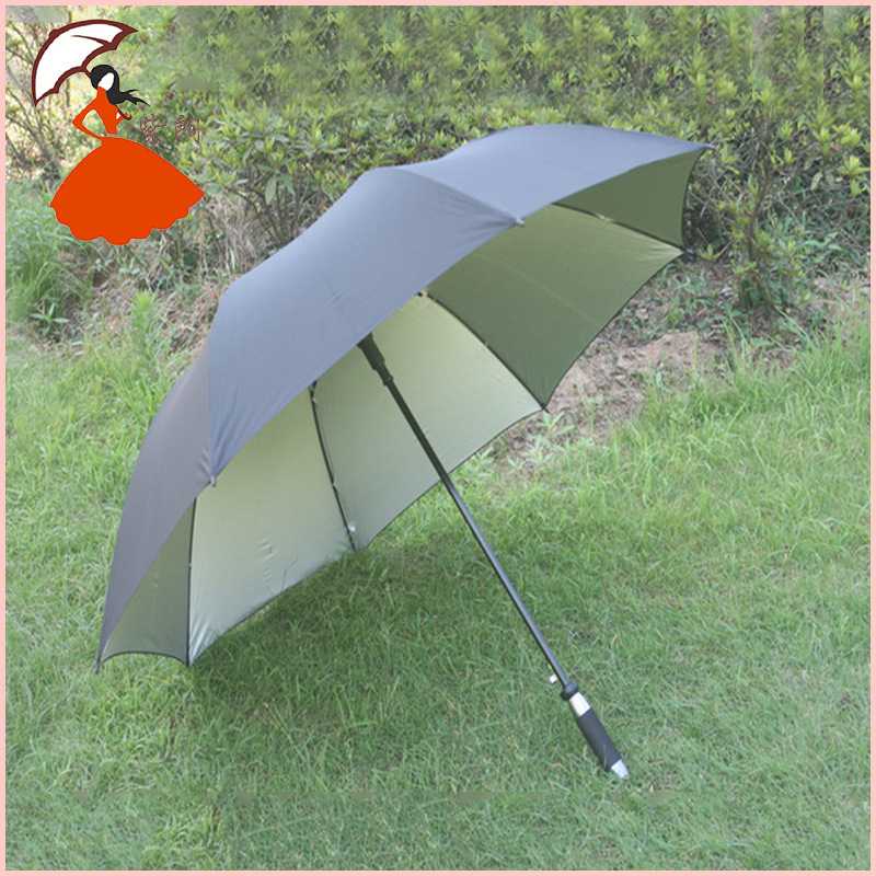 Production of the entire fiber bone golf umbrella golf umbrella creative boutique business oversized advertising gift umbrella(China (Mainland))