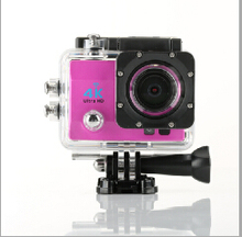 New WIFI 4K Ultra HD DV Mini Camcorders Sports Cameras 4k 15FPS 1080P 60fps 16MP Pixel 170 Lens 2 LCD Diving 30M Helmet Cam(China (Mainland))