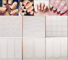 1pc Nails Sticker Tips Guide French Manicure Nail Art Decals Form Fringe Guides DIY Styling Beauty Tools