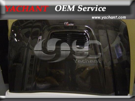 Carbon Fiber OEM Style Hood Bonnet Fit For 1996-1997 Mitsubishi Evolution 4(China (Mainland))