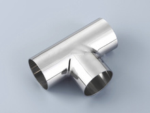 """Buy 1pc 57mm 2.25"""" 2.25 2-1/4 Inch OD 304 316 Stainless Steel SS304 SS316 T Joint Polishing Sanitary Welding Pipe Fitting Tee for $11.66 in AliExpress store"""