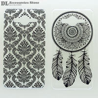 Case For Samsung Galaxy Core 2 G355H Black White Texture Coloured Drawing Phone Cover For Samsung G355H Hard Plastic Phone Cases