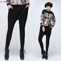 women Harem Pants Slim fit palazzo pants High waist Loose pencil pants trousers Black women joggers