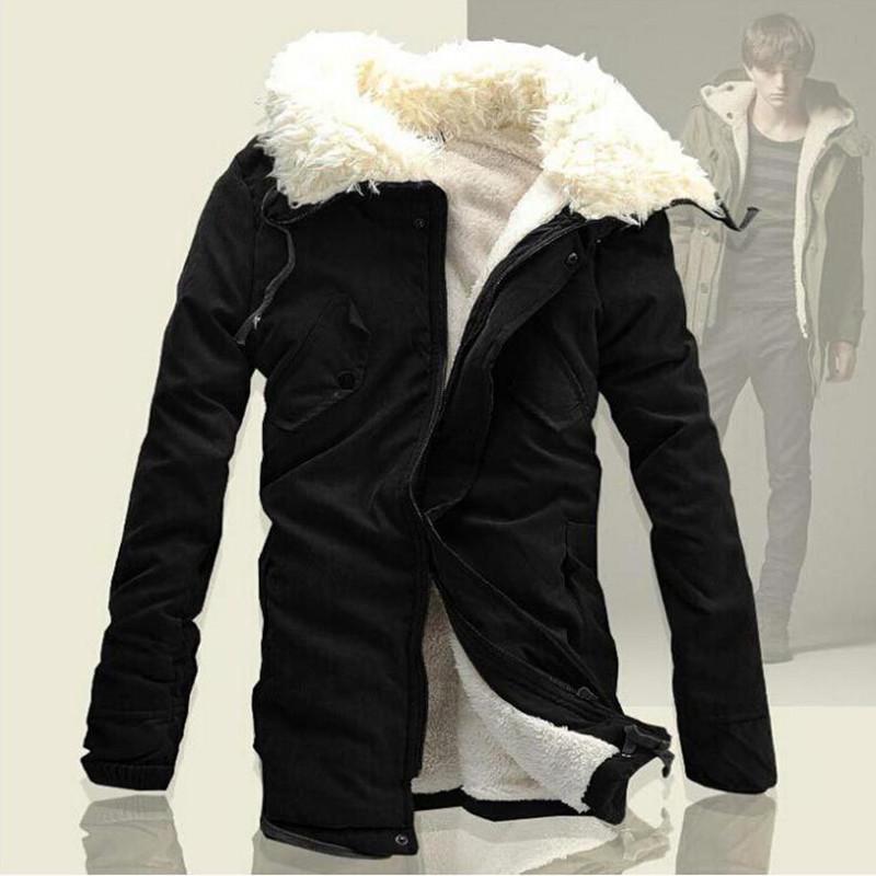 Зима куртка хлопок, парка мужчины