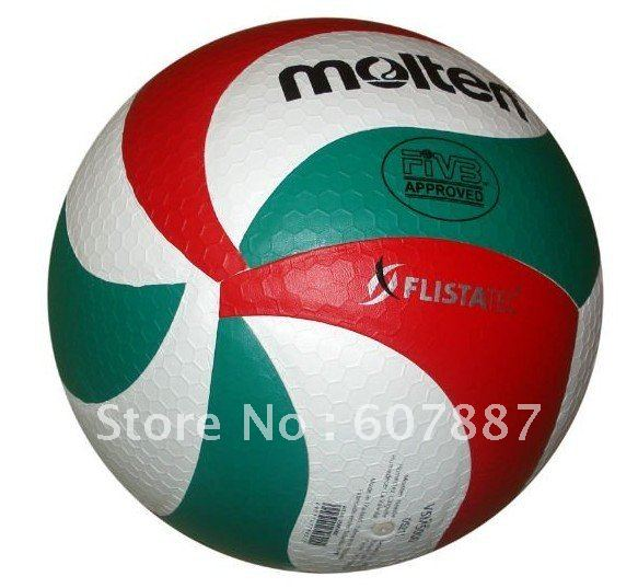 free shipping Brand Molten Volleyball PU Soft Touch Offical Size -NEW VSM5000, 8panels volleyball(China (Mainland))