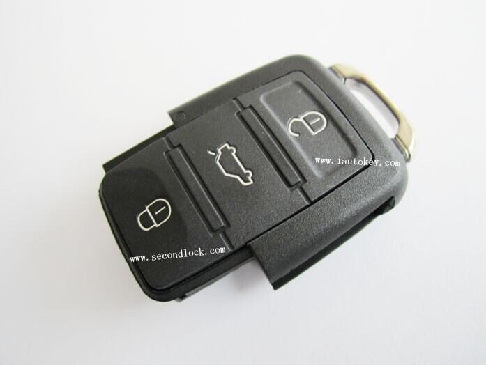 10pcs/lot for Volkswagen Car Key Remote Control 1J0 959 753 AH 434MHZ(China (Mainland))