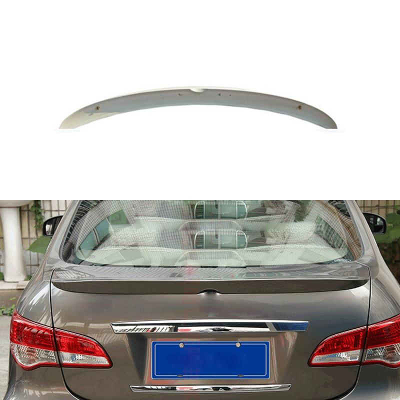 Car Styling Spoiler ABS Material For Nissan Almera Sylphy 2013 2014 2015 Without The Paint Car-styling Auto Decoration<br>