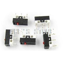 Laptop Computer Mouse 3Pin Subminimature Micro Limit Switch 5 Pcs(China (Mainland))