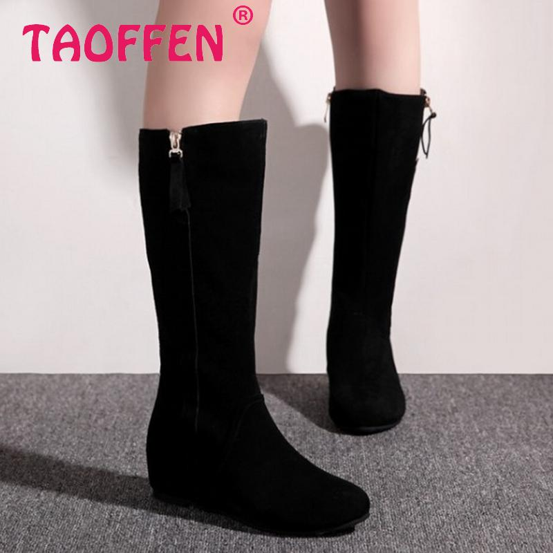 CooLcept Free shipping half short natrual real genuine leather wedge boots women winter warm boot shoes R3052 EUR size 34-39<br><br>Aliexpress