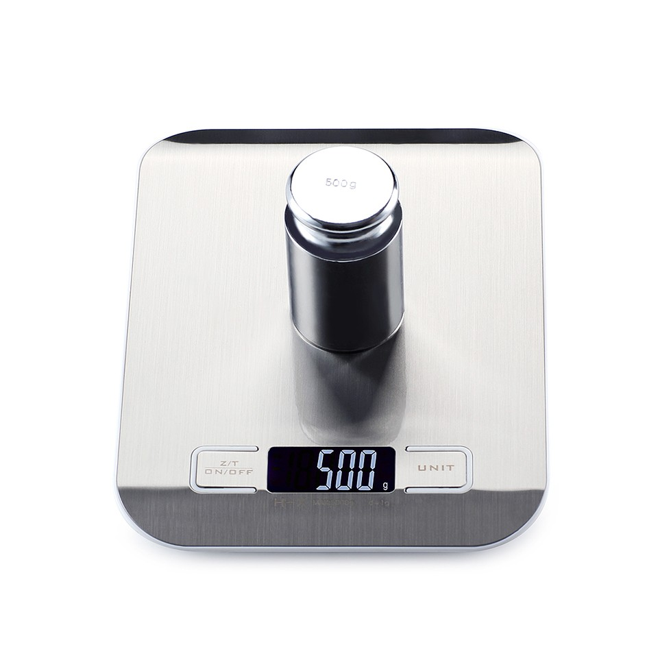 10kgx1g Electronic LCD Weight Scale Libra Stainless Steel Digital Precision Kitchen Scale Baking Household Cozinha Scale Balance