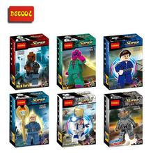 Wholesale 10sets Building Block Super Heroes Avengers Minifigure NICK FURY/VAISIOM/ULTIMATE ULTRON/IRON LEGLENAIRE Brick Figure