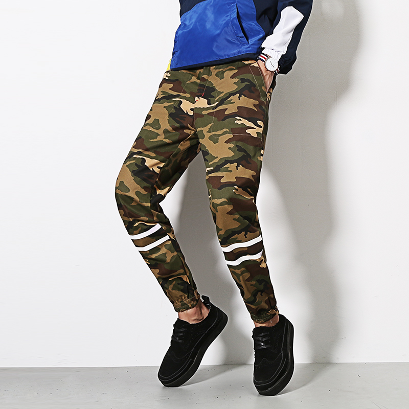 2016 New Brand men Pants Army Military Camouflage joggers Mens Jogging hip hop sports trousers jogger pants pantalon homme(China (Mainland))