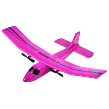 2016 New Arrival  FX 805 RC EPP Plane Foam 2.4GHz 2CH Soaring Airplane RTF Glider Remote Control Toys For Children 2 Colors(China (Mainland))