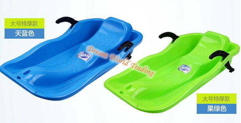 Outdoor Grass skiing adult thicker board With brake Snowboards Sandboarding board Sled sledge(China (Mainland))