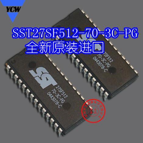 Free shipping  10PCS  SST27SF512-70-3C-PG DIP28