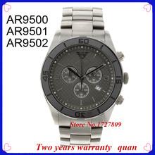 Nuevas adquisiciones de lujo marca de relojes superior AR9500 AR9501 AR9502 hombres de titanio reloj caja Original 9500 9501 9502