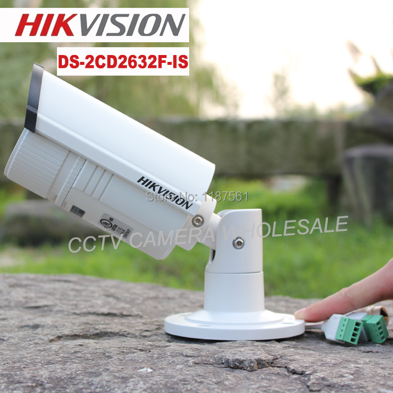 Hikvision multi-language DS-2CD2632F-IS 3MP 2.8-12mm vari-focal lens IR Audio alarm IP SECURITY CCTV CAMERA IP66 DS-2CD2632F-I(China (Mainland))