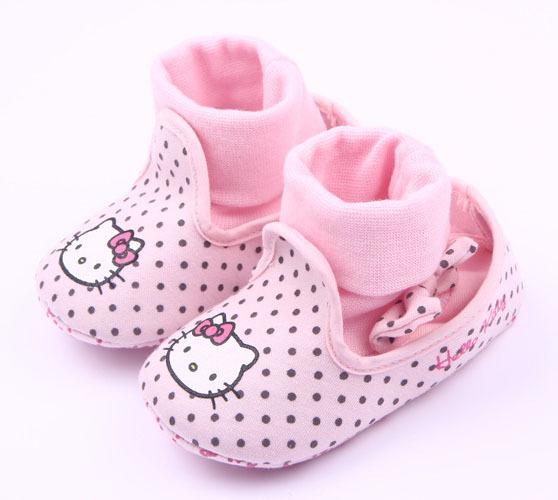 0 - 2 лет девочка первая прогулка обуви привет котенок стиль прекрасный маленькая ...