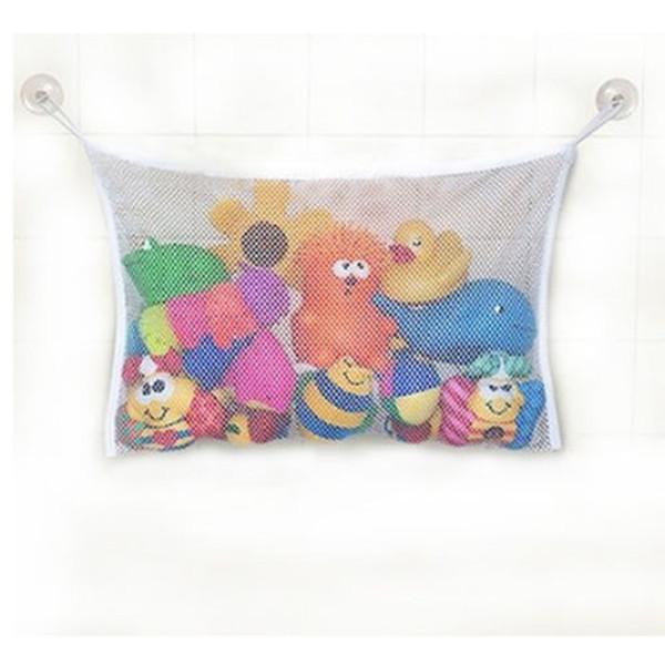 New Funny Kids Baby Bath Tub Toy Bag Hanging Organizer Storage Bag White(China (Mainland))