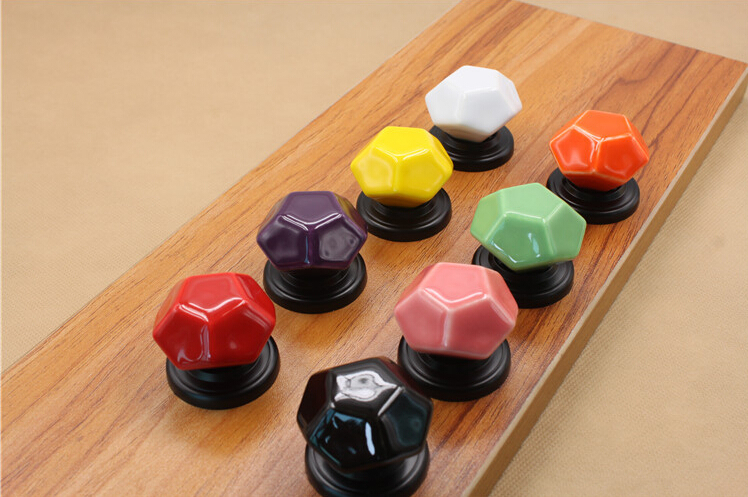 Гаджет  Ceramic Candy Color Cabinet Handles and Knobs Furniture Fittings Home Decorations None Мебель