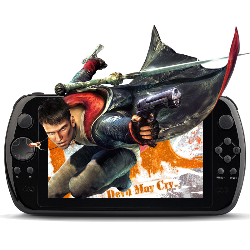 100% Original GPD Q9 GamePad Game Tablet PC RK3288 7'' Android 4.4 Quad Core Game Handheld Console 3D Game Player 0.3MP Camera(China (Mainland))