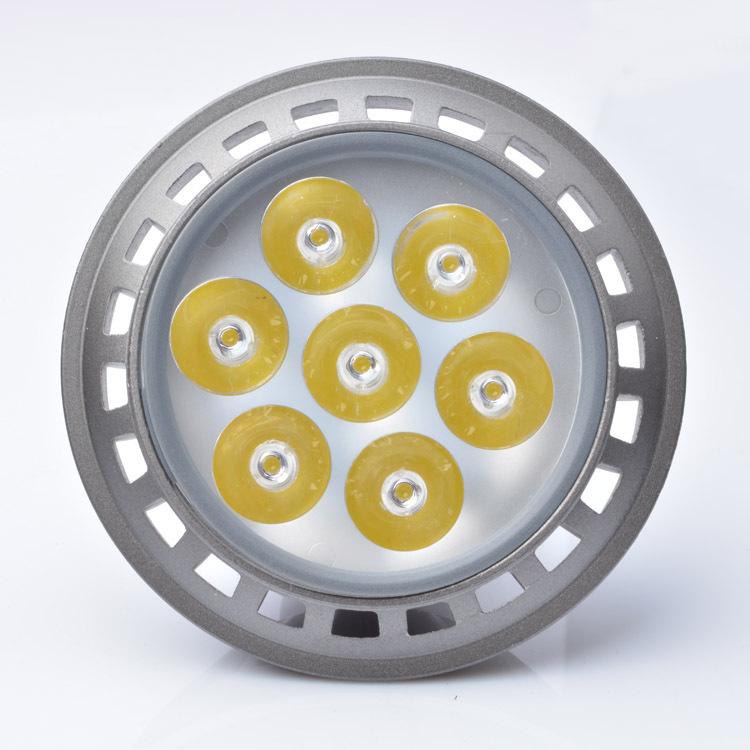 par led par30 7W par 30 led lamp bulb led spotlight bulb par led rgbw lamparas de techo(China (Mainland))