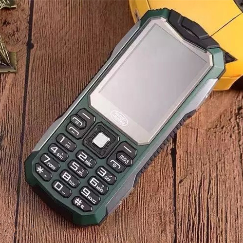Original S6 GSM Outdoor Rugged Shockproof Dustproof Mobile Phone Cell Phone Vibration Russian Language/ Keyboard Spanish(China (Mainland))