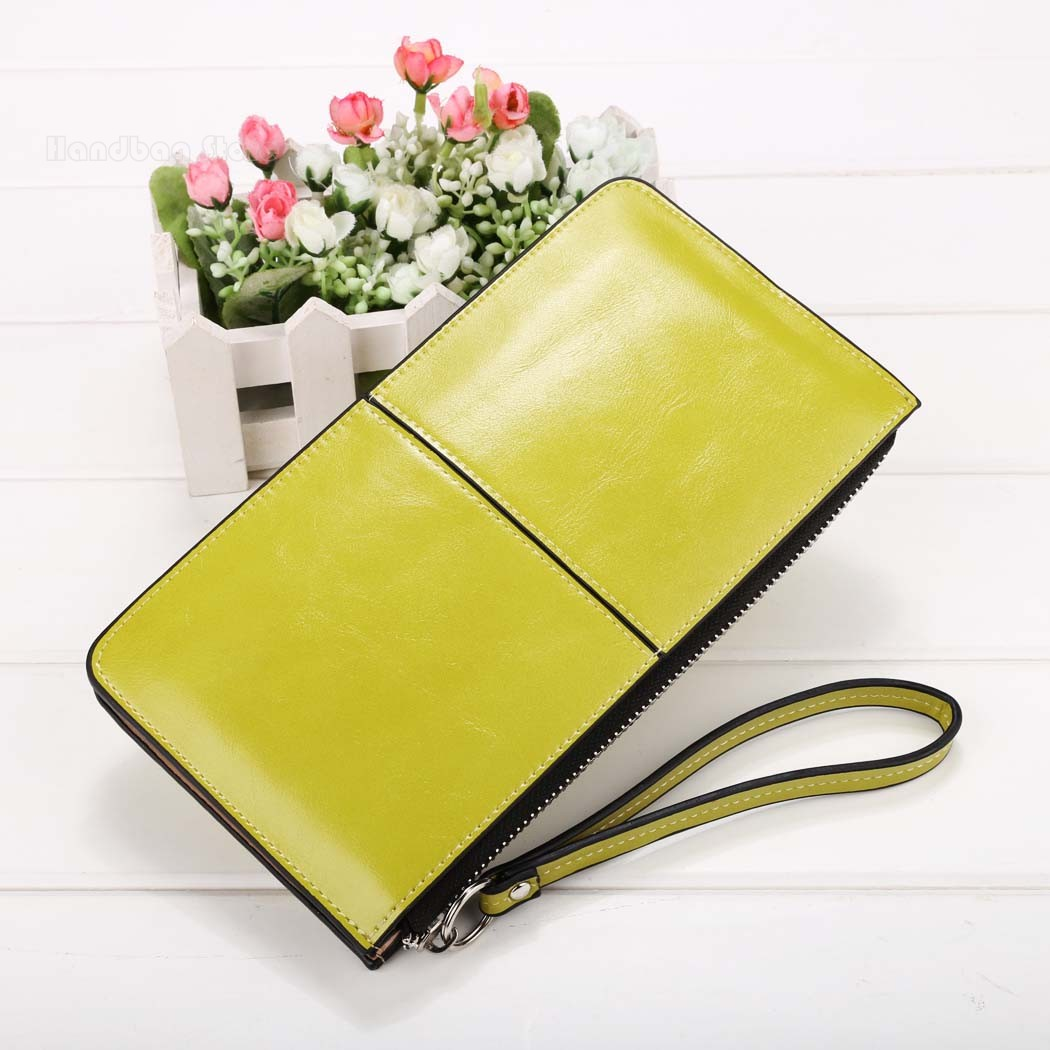 High Quality Candy Color Long Wallet Wholesale Multi-functional Solid Small Clutch Handbag Ms. Long Purse<br><br>Aliexpress