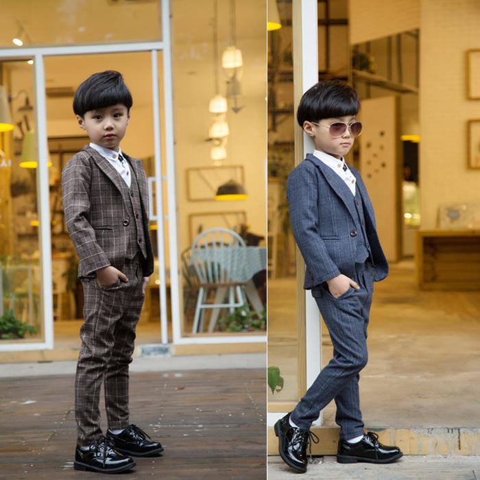 High quality Jackets Vest Pants Shirts Boy Suits Flower girl Slim Fit Tuxedo Brand Fashion Bridegroon
